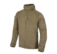 Helikon - Bluza ALPHA HOODIE - Grid Fleece - Coyote