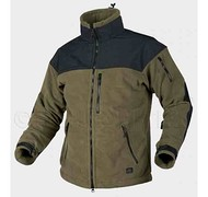 HELIKON - Bluza CLASSIC ARMY - Fleece Windblocker - Olive Green/Czarna