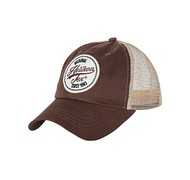 Helikon - Czapka Trucker Logo - cotton twill - mud brown