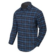 Helikon - Koszula GreyMan Shirt - Blue Stonework Plaid S/Regular
