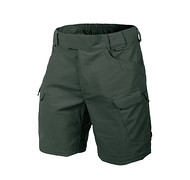 "HELIKON - Spodnie Urban Tactical Shorts 8.5"" - PolyCotton Ripstop - Jungle Green L/Regular"
