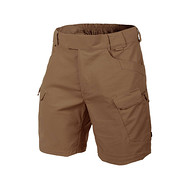 "HELIKON - Spodnie Urban Tactical Shorts 8.5"" - PolyCotton Ripstop - Mud Brown M/Regular"
