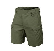 "HELIKON - Spodnie Urban Tactical Shorts 8.5"" - PolyCotton Ripstop - Olive Green M/Regular"