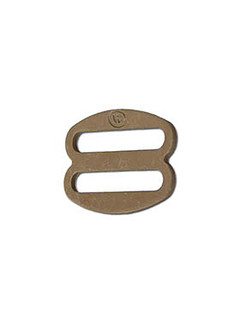 ITW Nexus - Klamra regulator - Round Oval Slide 1'' - Tan