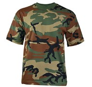 MFH - T-shirt US Woodland -