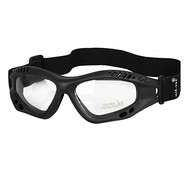 Mil-Tec - Okulary COMMANDO Black Clear