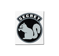 MSM - Naklejka - Secret Squirrel
