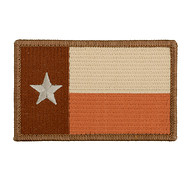 Naszywka haftowana Texas State Flag The Lone Star - Tan [Minotaurtac]