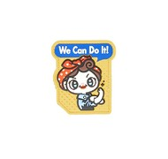 Naszywka We Can Do It Cute - Full Color