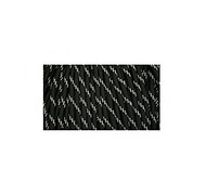 Paracord - MIL-SPEC 550-7 - 4 mm - Reflective Tracers Black - 1 metr